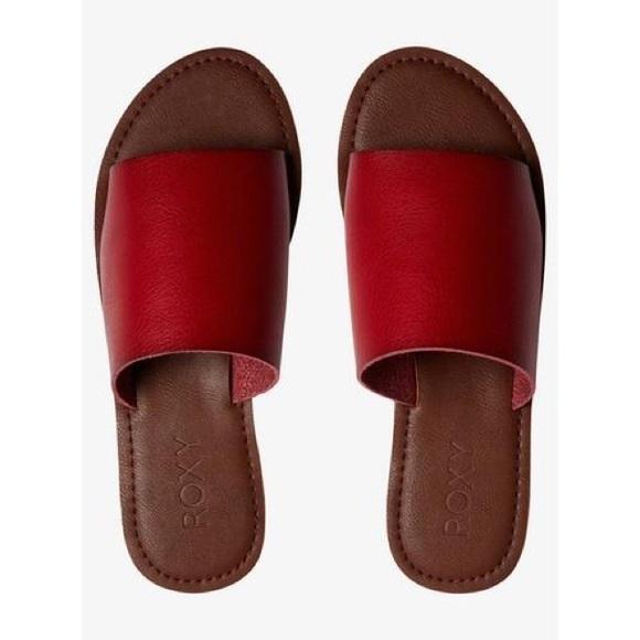 Roxy Kaia Slide Sandals Size 9 NWT